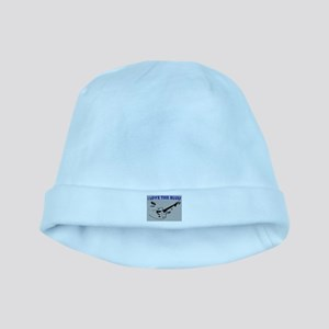 I LOVE THE BLUES baby hat