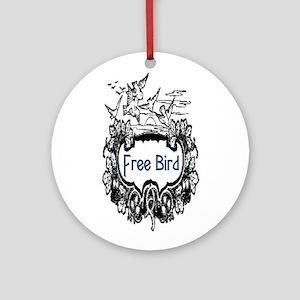 FREE BIRD Ornament (Round)