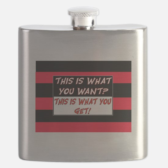 THIS IS WHAT YOU GET? Flask