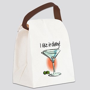 I LIKE IT DIRTY Canvas Lunch Bag