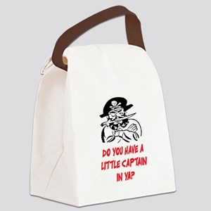 GOT A LITTLE CAPTAIN IN YA? Canvas Lunch Bag