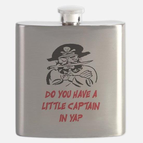 GOT A LITTLE CAPTAIN IN YA? Flask