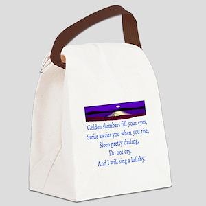 GOLDEN SLUMBERS Canvas Lunch Bag