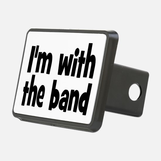 I'M WITH THE BAND Hitch Cover