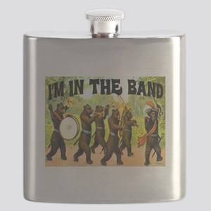 I'M WITH THE BAND Flask