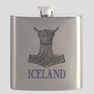 ICELAND (THOR'S HAMMER) Flask