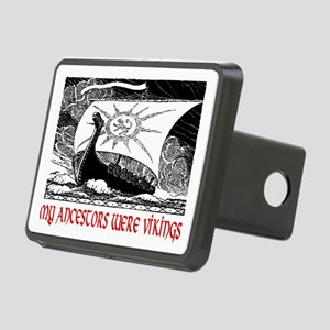 MY ANCESTORS WERE VIKINGS Rectangular Hitch Cover