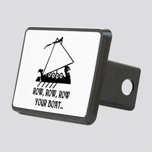 ROW, ROW, ROW YOUR BOAT Rectangular Hitch Cover