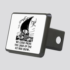 THE LAND OF ICE AND SNOW Rectangular Hitch Cover