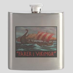 FARER I VIKINGR Flask