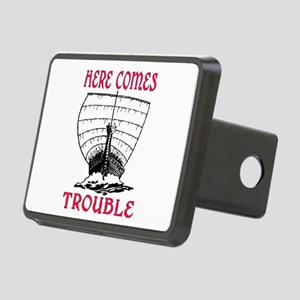 HERE COMES TROUBLE (VIKING) Rectangular Hitch Cove