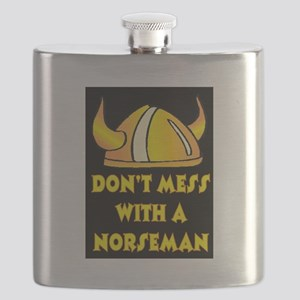 DON'T MESS WITH A NORSEMAN Flask