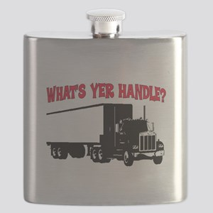 WHAT'S YER HANDLE?? Flask