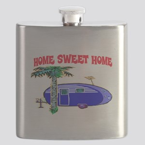 HOME SWEET HOME (BLUE) Flask