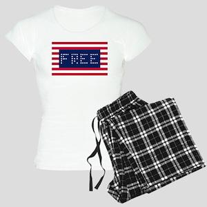 Free Flag Pajamas