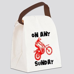 ON ANY SUNDAY Canvas Lunch Bag