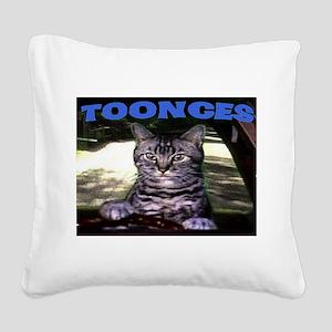 TOONCES Square Canvas Pillow