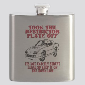 RESTRICTOR PLATE OFF.. Flask