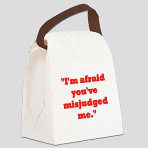 MISJUDGED ME? Canvas Lunch Bag