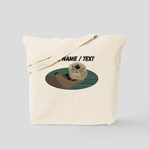 Custom Otter Tote Bag