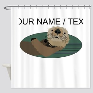 Custom Otter Shower Curtain