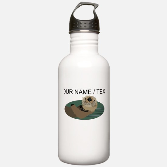 Custom Otter Water Bottle