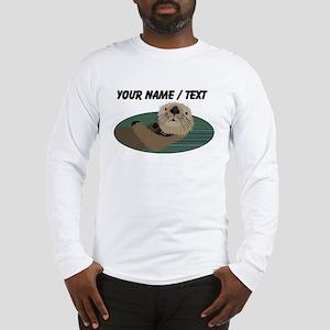 Custom Otter Long Sleeve T-Shirt