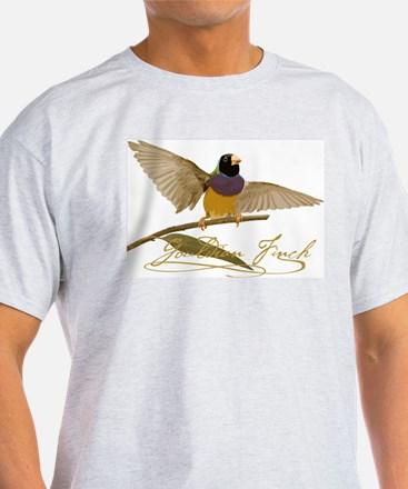 Gouldian Finch T-Shirt - design fron T-Shirt