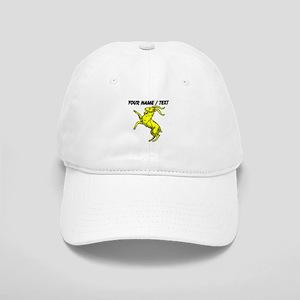 Custom Gold Goat Statue Baseball Cap