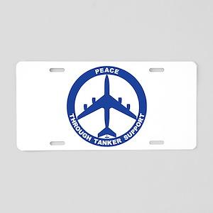 KC-135 Stratotanker Aluminum License Plate