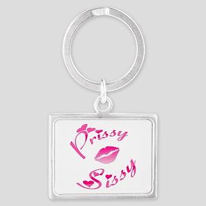Pissy Sissy Pink Lips Keychains