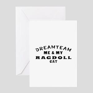 Ragdoll Cat Designs Greeting Card