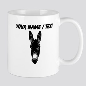 Custom Donkey Face Mug