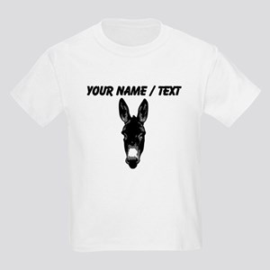 Custom Donkey Face T-Shirt