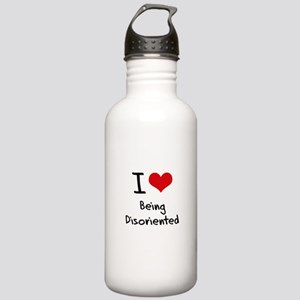 I Love Being Disoriented Water Bottle