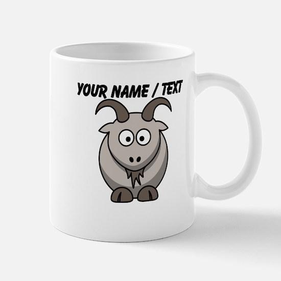 Custom Cartoon Goat Mug