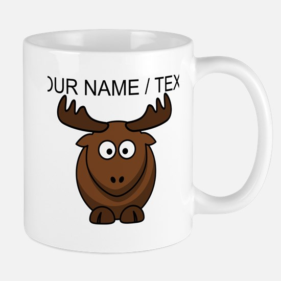 Custom Cartoon Moose Mug