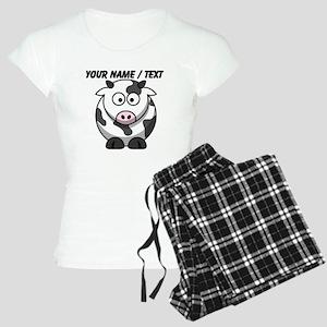 Custom Cartoon Cow Pajamas