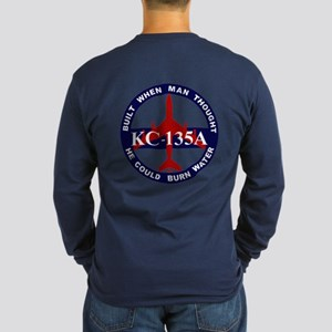 KC-135 Stratotanker Long Sleeve Dark T-Shirt