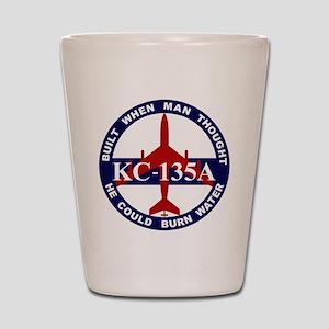 KC-135 Stratotanker Shot Glass