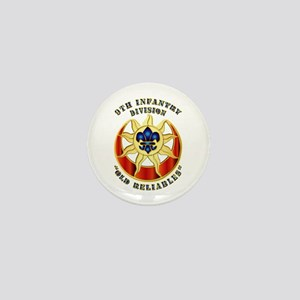Army - DUI - 9th Infantry Division Mini Button