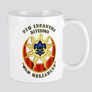 Army - DUI - 9th Infantry Division Mug
