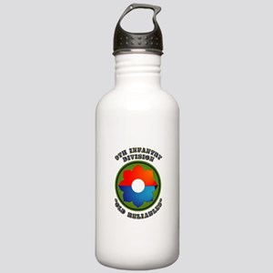 Army - SSI - 9th Infantry Division Stainless Water