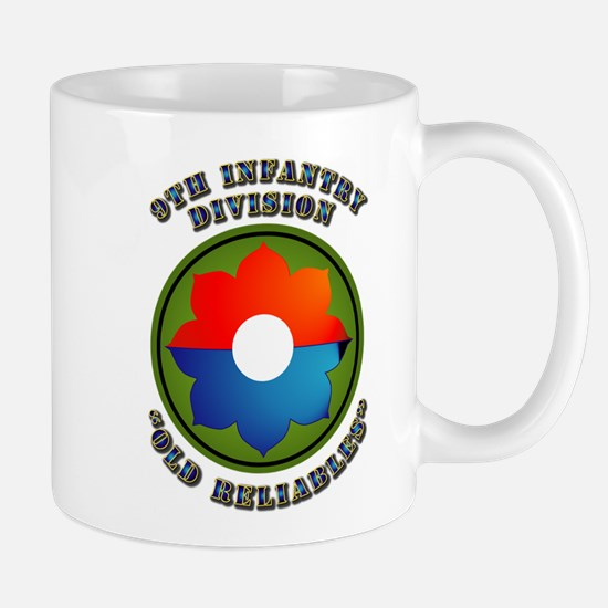 Army - SSI - 9th Infantry Division Mug