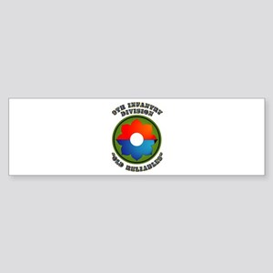 Army - SSI - 9th Infantry Division Sticker (Bumper