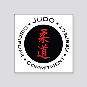 Judo Logo circle Sticker