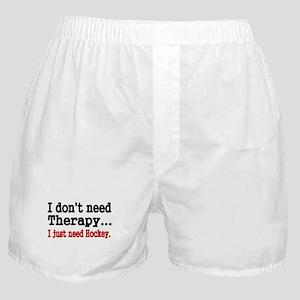 I dont need therapy. I just need Hockey. Boxer Sho