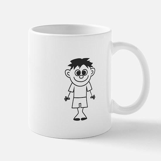 Son - stick figure family Mug