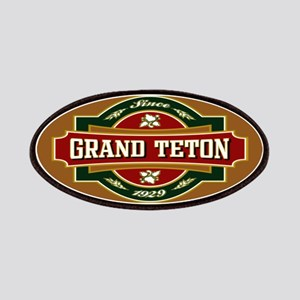 Grand Teton Old Label Patches