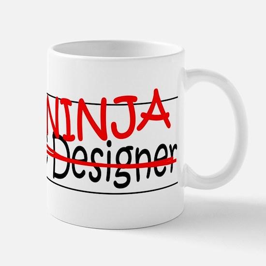 Job Ninja Graphic Designer Mug